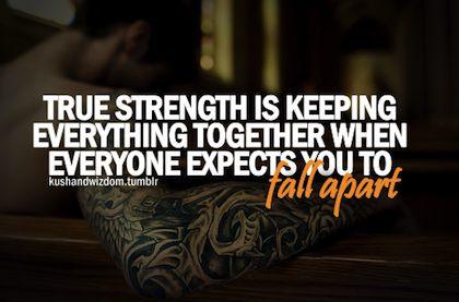 inspirational quotes about strength quotesgram