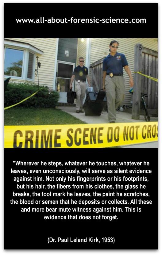 criminal investigations criminal evidence Administrative investigations and criminal investigations  items of evidence.