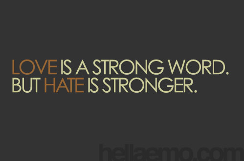 Love-Hate Quotes. QuotesGram