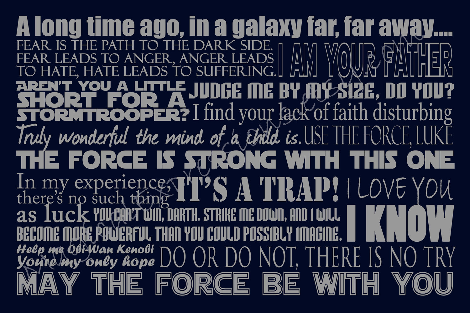 Top 45 Famous Star Wars Quotes With Images Of All Time |Star Wars Best Quotes Ever