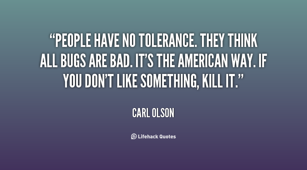 Tolerance Quotes Quotesgram