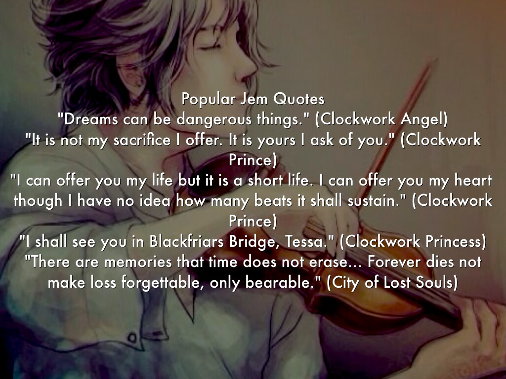 william herondale and jem carstairs quotes quotesgram