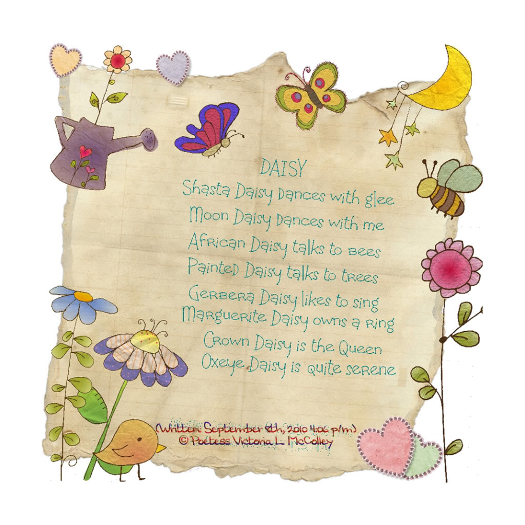 Daisy Poems ... Poems About Daisy Flowers