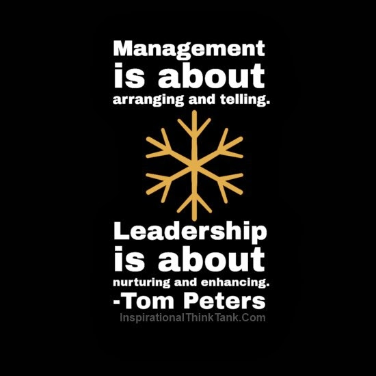 Famous Quotes On Leadership: Good Management And Leadership Quotes. QuotesGram