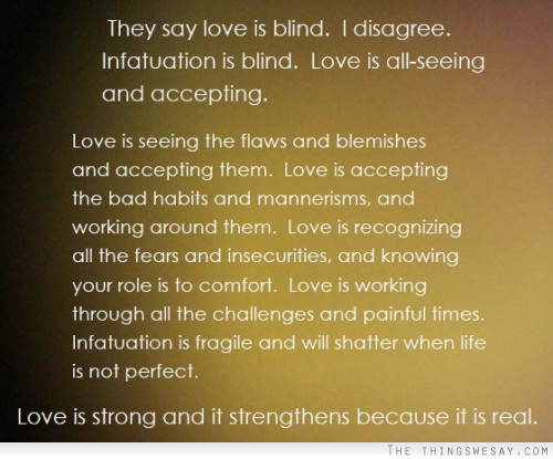 Love Quotes About Life: Quotes About Accepting Love. QuotesGram