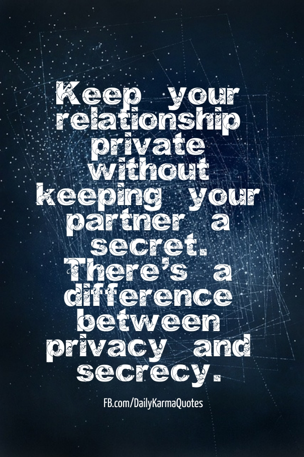 New Relationship Love Quotes: Privacy In Relationships Quotes. QuotesGram