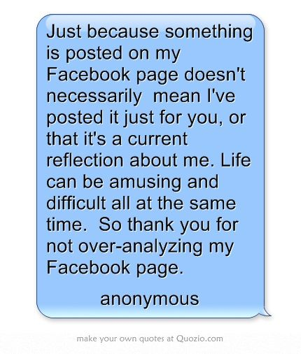 Facebook Quotes And Saying: Nosey People Quotes For Facebook. QuotesGram