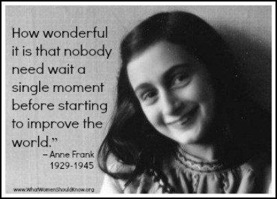 Anne Frank Misunderstood
