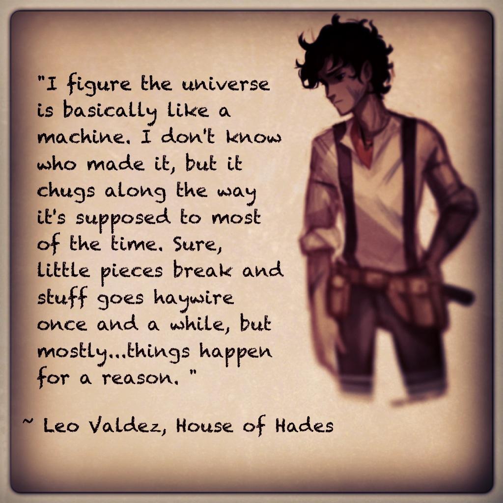 Powerful Little Quote Sad Quotes T: Sad Leo Valdez Quotes. QuotesGram