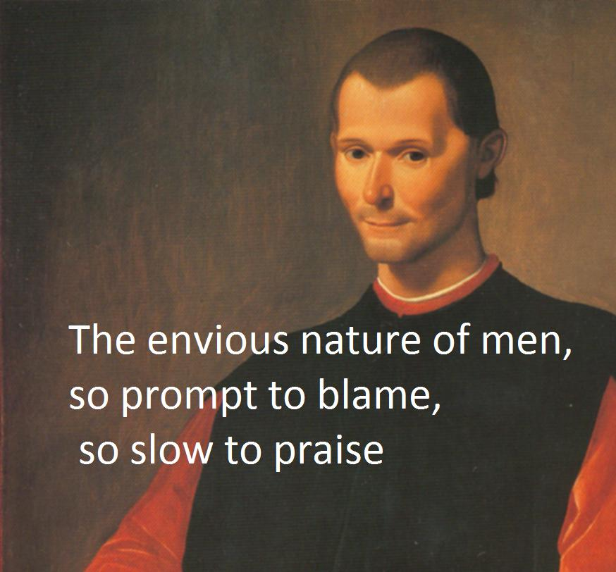 Famous Quotes: Famous Quotes From Machiavelli. QuotesGram