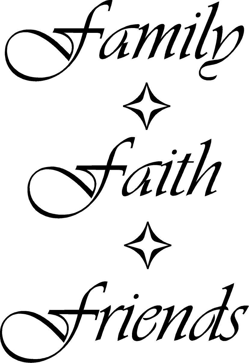 Faith Family Friends Quotes. QuotesGram