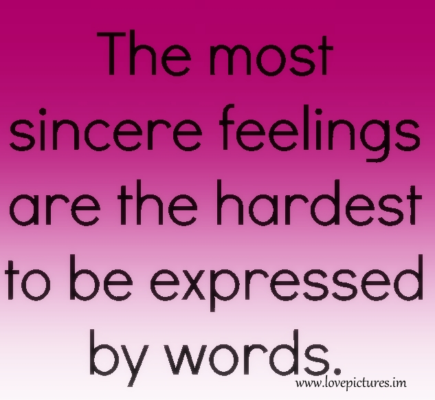 And sincerity love about quotes Quotes about
