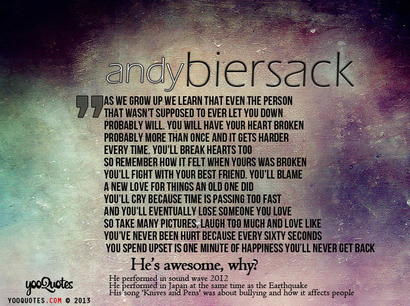 andy biersack quotes - 800×598