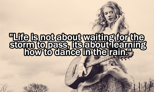 Taylor Swift Inspirational Quotes Quotesgram