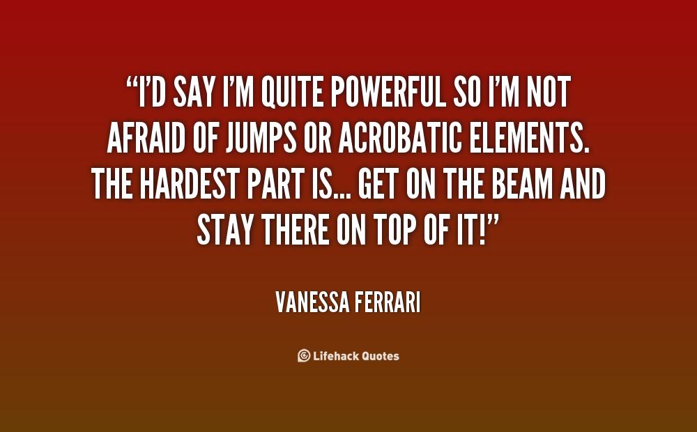 Vanessa Ferrari Quotes Quotesgram