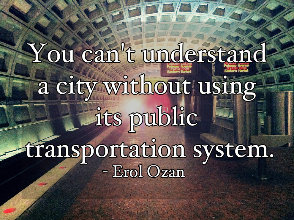 Public Transportation Quotes. QuotesGram