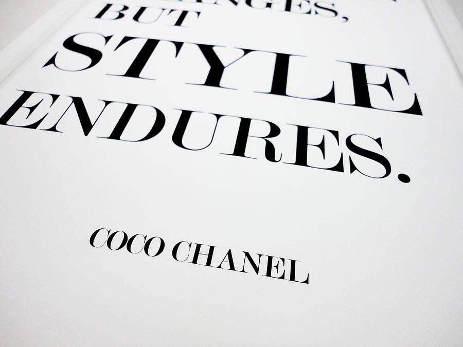 coco chanel fashion quotes quotesgram