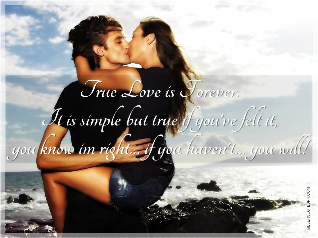 Quotes True Love Forever. QuotesGram
