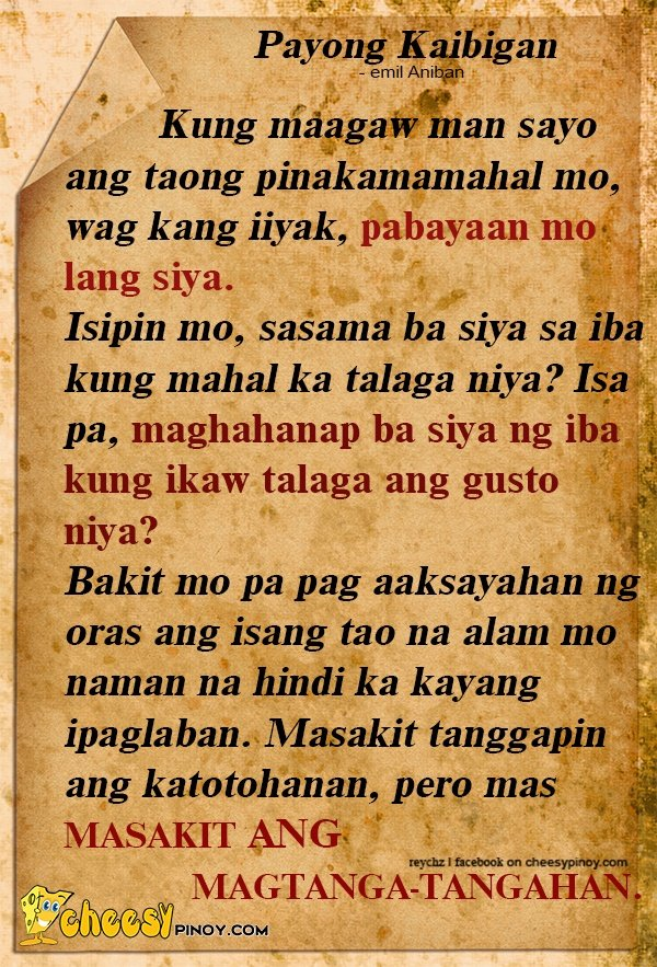 Goodbye High School Quotes Tagalog: Funny Filipino Quotes English. QuotesGram