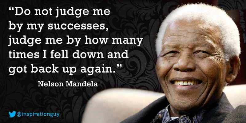 quotes biography nelson mandela