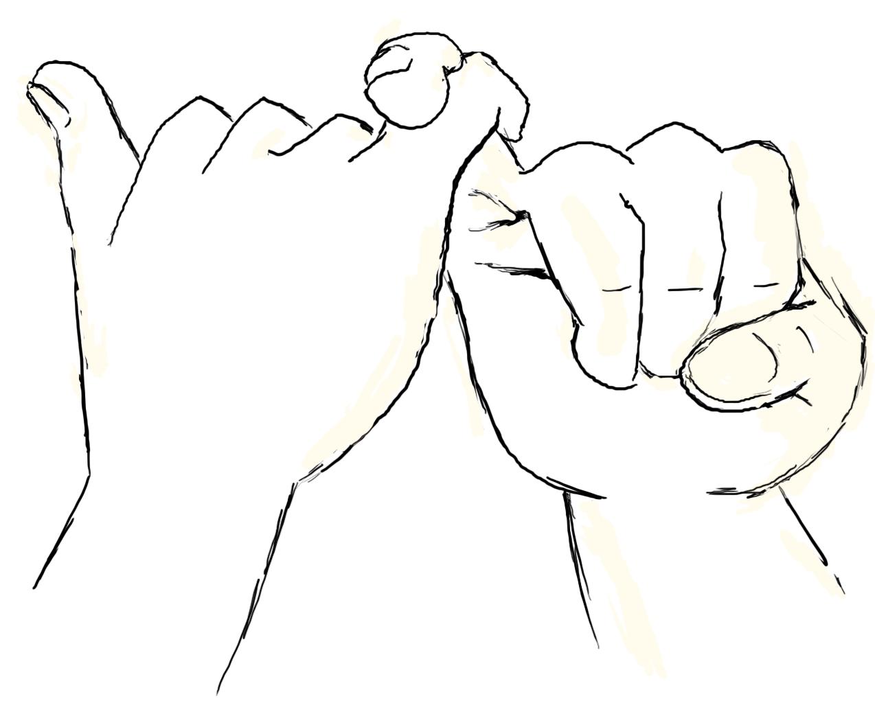 картинки символы дружбы рисовать применена