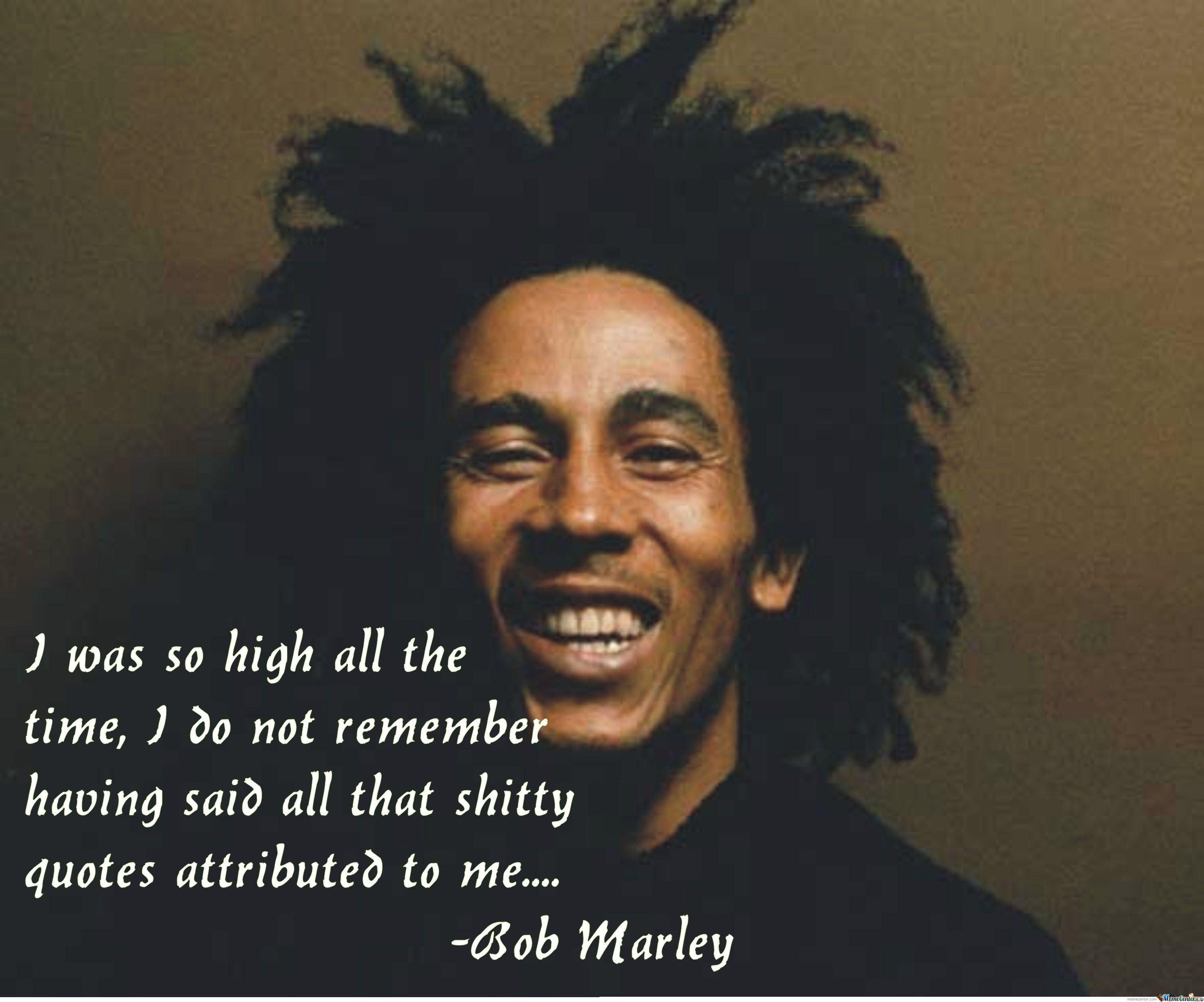 Funny Bob Marley Quotes Quotesgram