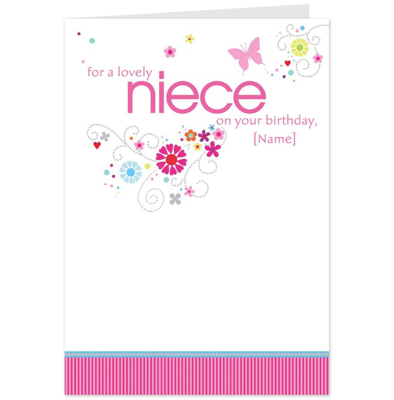 Birthday Quotes For Nieces: Happy Birthday Niece Quotes. QuotesGram