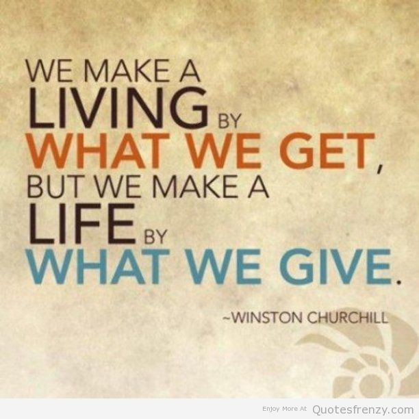 Inspirational Quotes About Positive: Quotes About Charity. QuotesGram