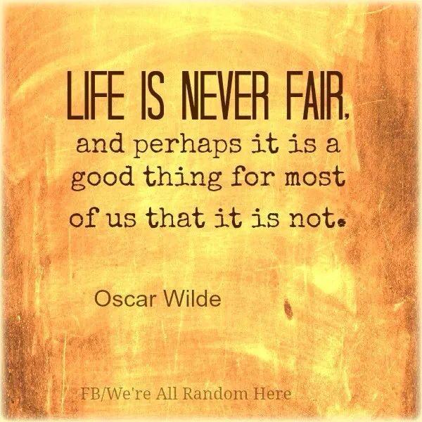 Is life fair or unfair essays