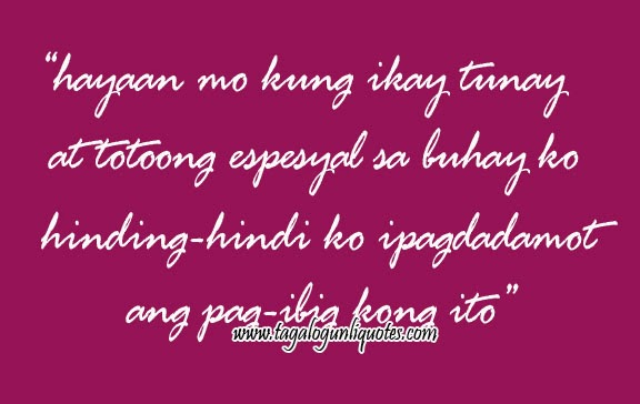 tagalog love quotes inspirational quotesgram