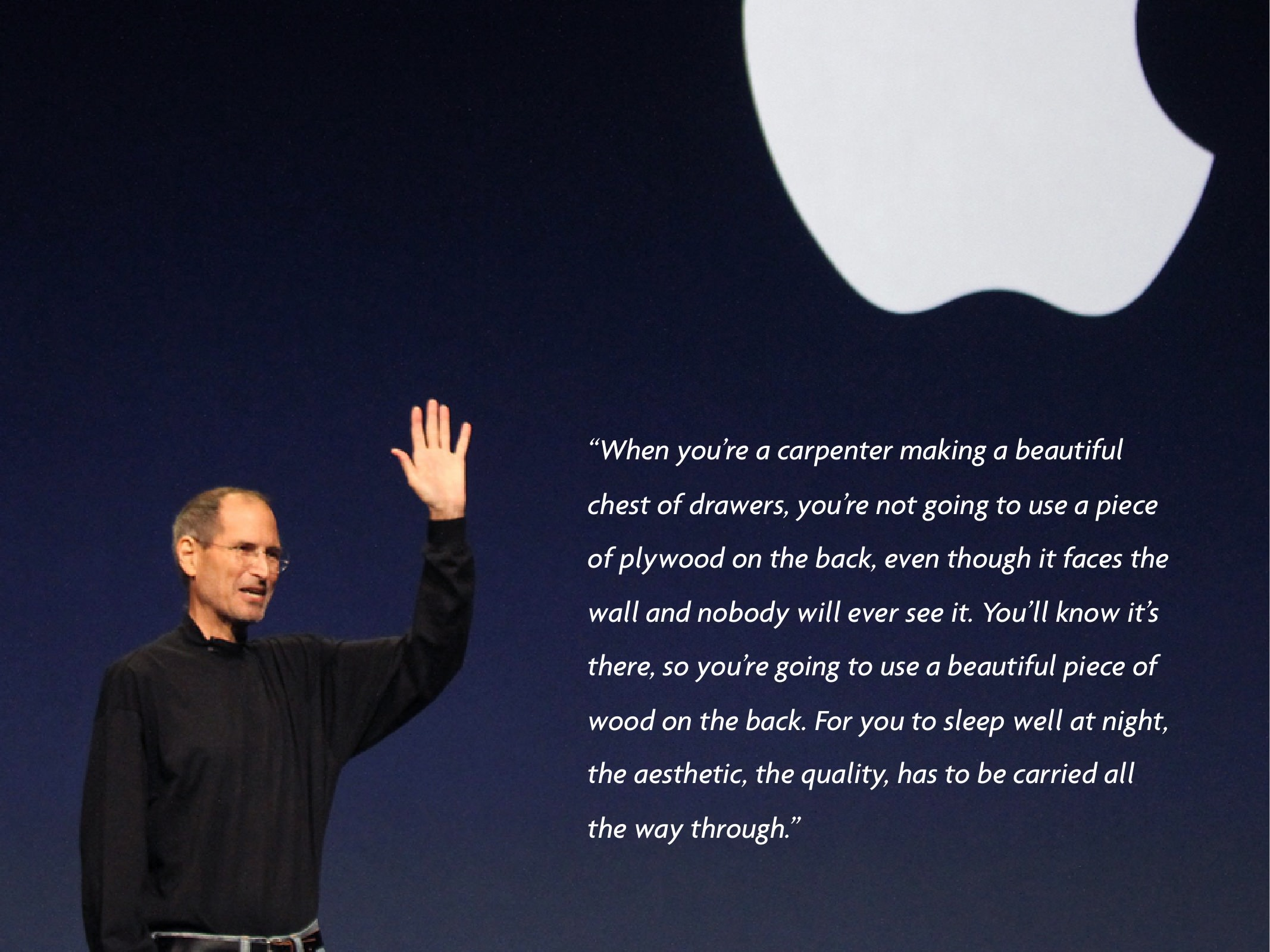 steve jobs creative thinking It's compelling to believe there's a route to true creative thinking, and there   steve jobs the quotes that touched me | schiffner via swissmiss.