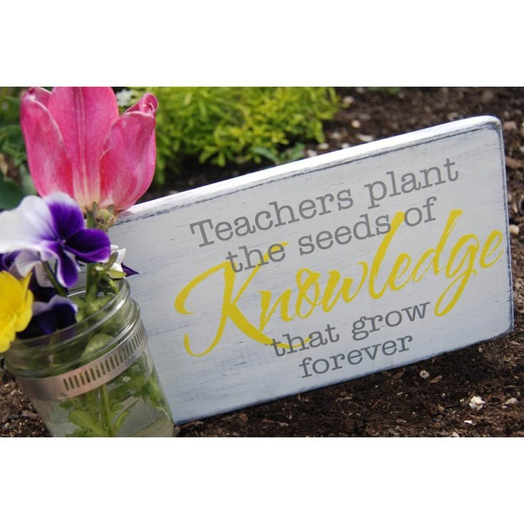 Quotes About Teachers Planting Seeds: Seeds Of Knowledge Quotes Teachers. QuotesGram