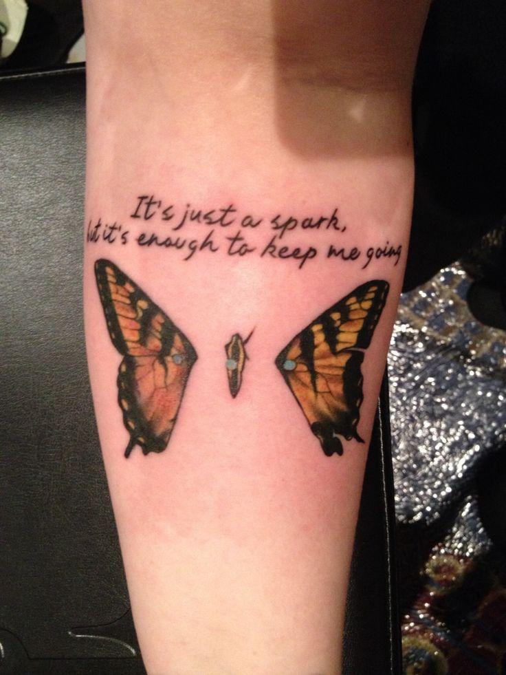 paramore quotes tattoos quotesgram