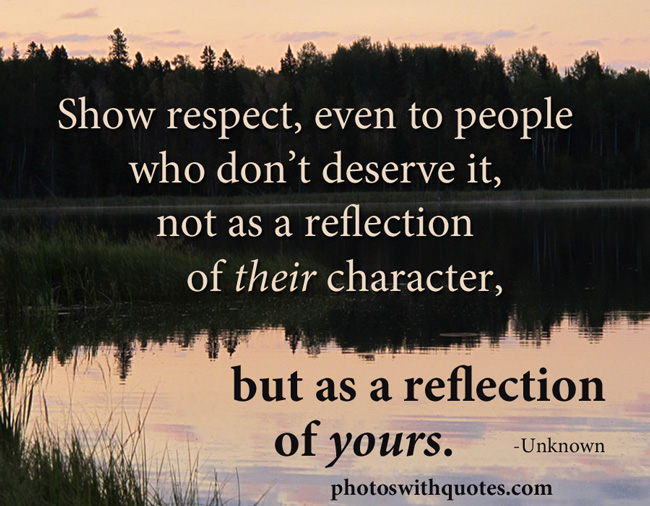Relationship Quotes About Love And Respect: Quotes About Respect In Relationships. QuotesGram