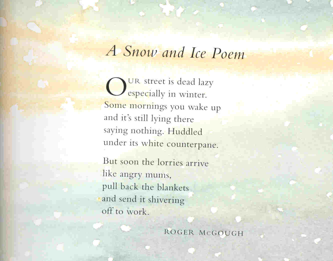 Snow Quotes And Poems. QuotesGram