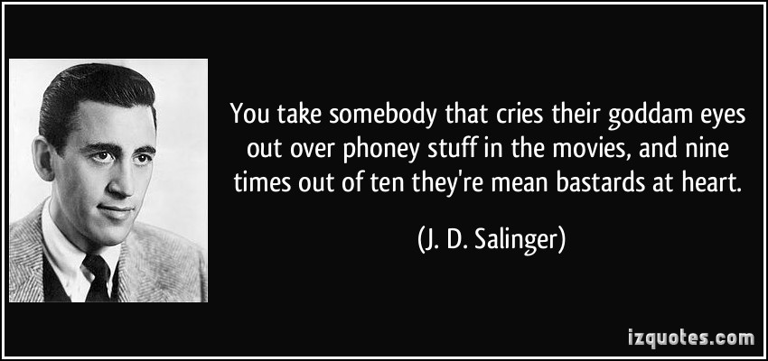 the authors insight about life and the world in catcher in the rye Today marks the 95th anniversary of jd salinger's birth the famously reclusive  author, known for penning the catcher in the rye and frann.