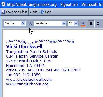 how to add a quote to your email signature