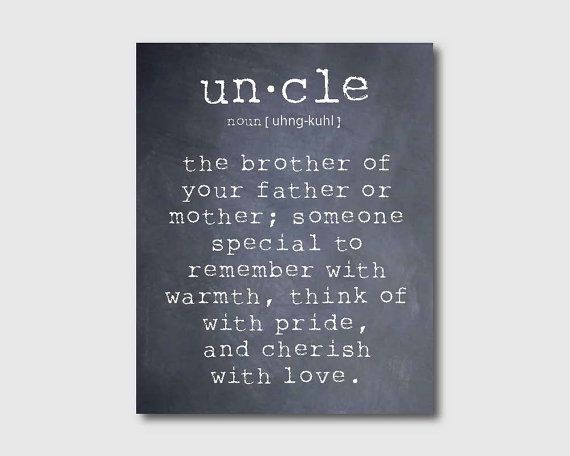 uncle and niece relationship quotes