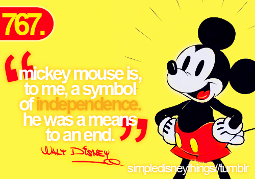 Quotes From Mickey Mouse: Mickey Mouse Walt Disney Quotes. QuotesGram
