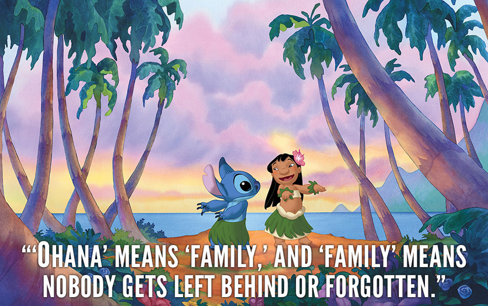 Lilo And Stitch Quote Ohana