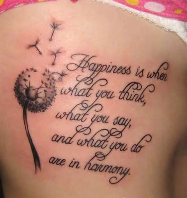 Deep And Meaningful Tattoo Quotes. QuotesGram