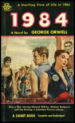 censorship in 1984 It's both ironic and fitting that 1984 would join the american library association's list of commonly challenged books given its bleak warning of totalitarian censorship.