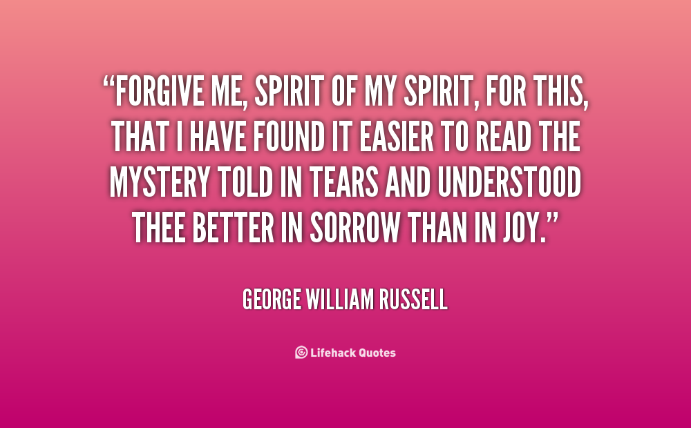 Forgive me quotes