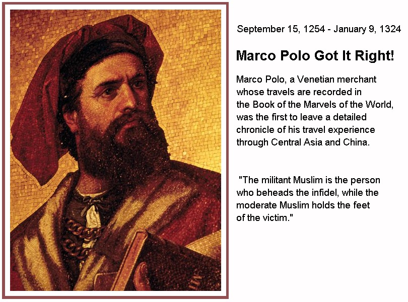 marco polo quotes on muslims quotesgram. Black Bedroom Furniture Sets. Home Design Ideas