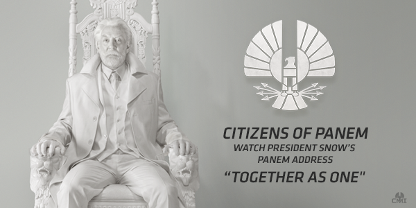 President Snow Mockingjay Quotes. QuotesGram