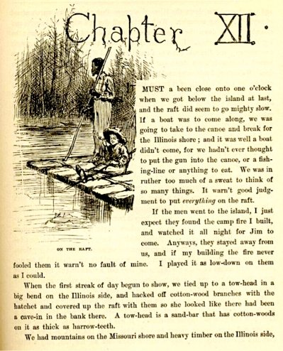 huck finn freedom Freedom in huckleberry finn research papers show the symbolism of the raft in huck and jim's adventure.