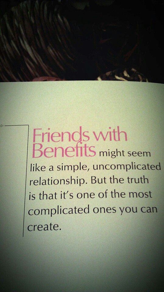 Quotes About Falling For A Friend With Benefits. QuotesGram