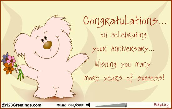 One Year Business Anniversary Quotes: Congratulations Work Anniversary Quotes For. QuotesGram