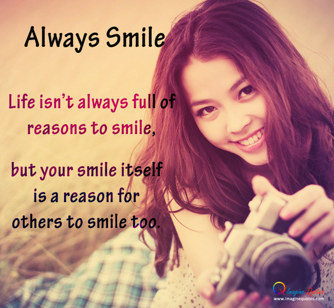 Cute Smile Quotes For Facebook: Smile Quotes For Girls. QuotesGram