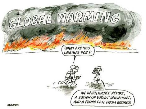 satire essays on global warming